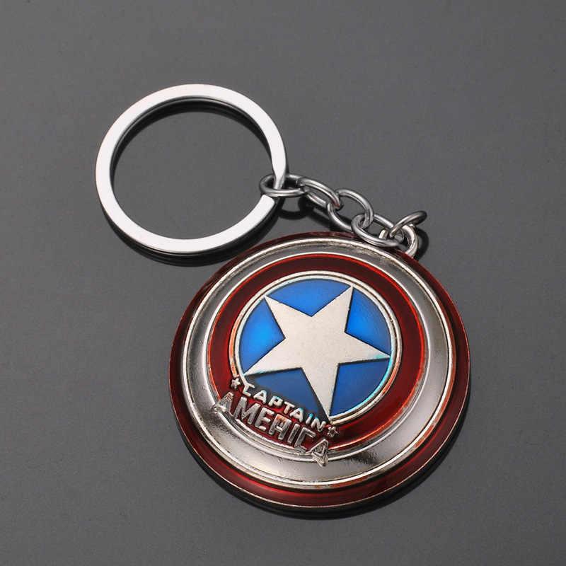 2019 NEW Marvel Avengers Thor Martelo mjolnir Keychain Escudo Capitão América Hulk Batman Máscara Chaveiro Chaveiros Por Atacado Da Gota
