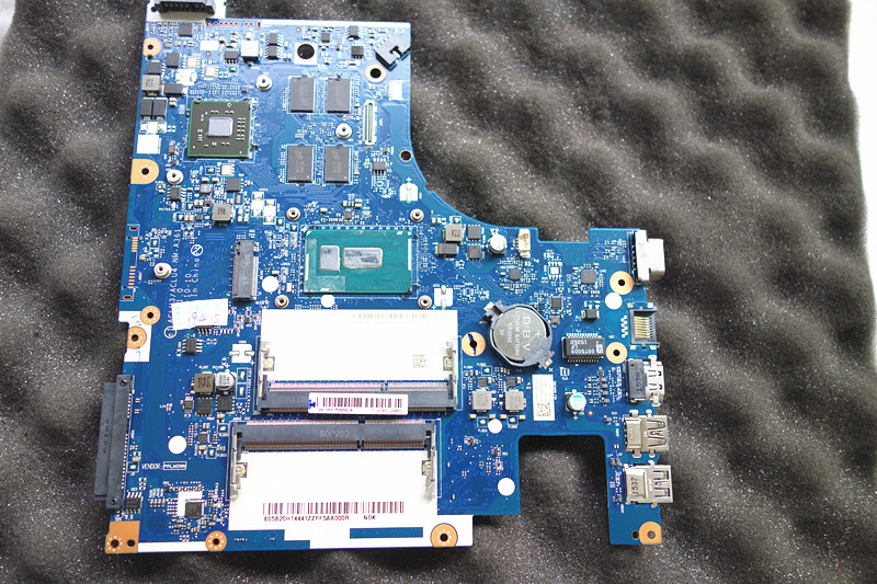 ACLU3/ACLU4 <font><b>NM</b></font>-<font><b>A361</b></font> fit for <font><b>Lenovo</b></font> G50-80 laptop Motherboard I7-5500U onboard image