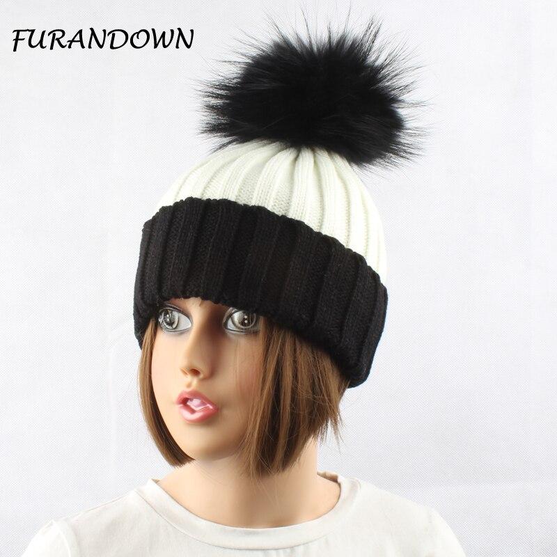 Зимові шапки для жінок Натуральна - Аксесуари для одягу