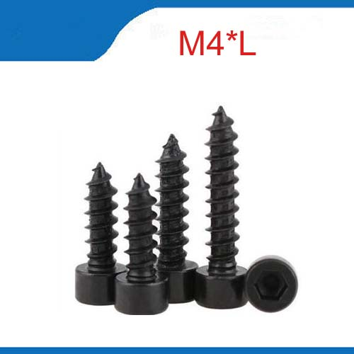 8.8 Hexagon Socket Screw Model Self Tapping Screw Speaker Speaker M4*10/12/14/16/18/20/25/30/35/40/45/50 винт hexagon socket screw 10 16 20 25 30 35 40 45 50 55 60 65 120