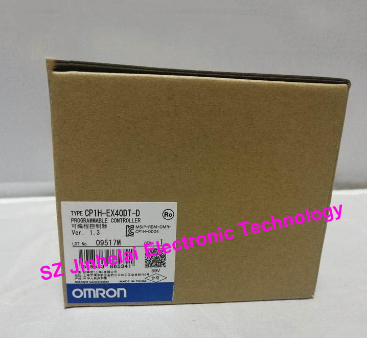 100%New and original CP1H-EX40DT-D OMRON Programmable controller new and original cp1h xa40 dr a omron plc controller module