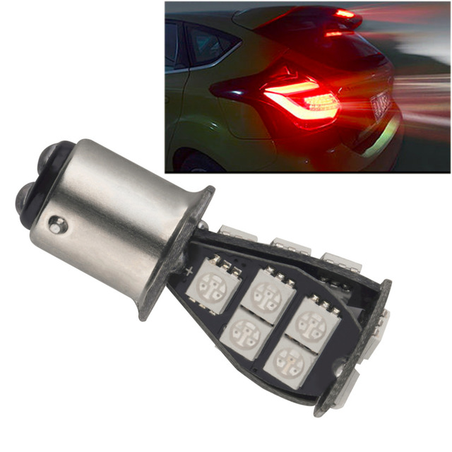 1157 BAY15D P21/2.5W 18SMD CANBUS Error Free Brake Tail Car LED Light Bulb Hot Drop Shipping