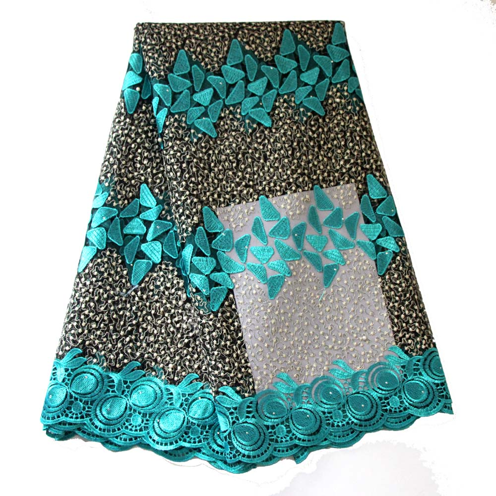 African Latest Lace Fabric Swiss Nigerian Lace Wine Gold Blue Nigerian French Lace Beaded Tulle Fabric