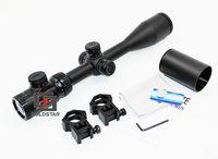 4.5 18X44 SFIR Zeis Optical Sight Hunting Shooting Riflescope Tactical Long Range Air Rifle Gun Scope With Sunshade + Rail Mount