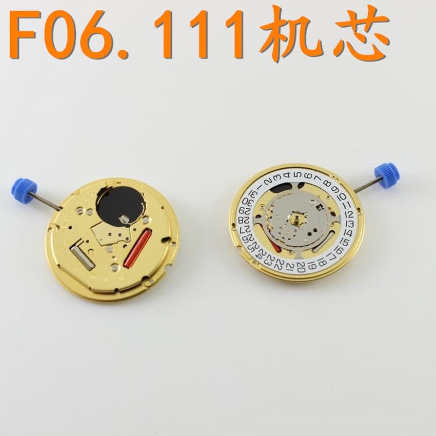 Watch accessories original Swiss ETA F06.111 movement three needle quartz movement does not contain batteries   Fotoflaco.net