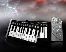 Portable folding electronic organ Roll Up Digital Keyboard Piano 49 Keys gift Soft child