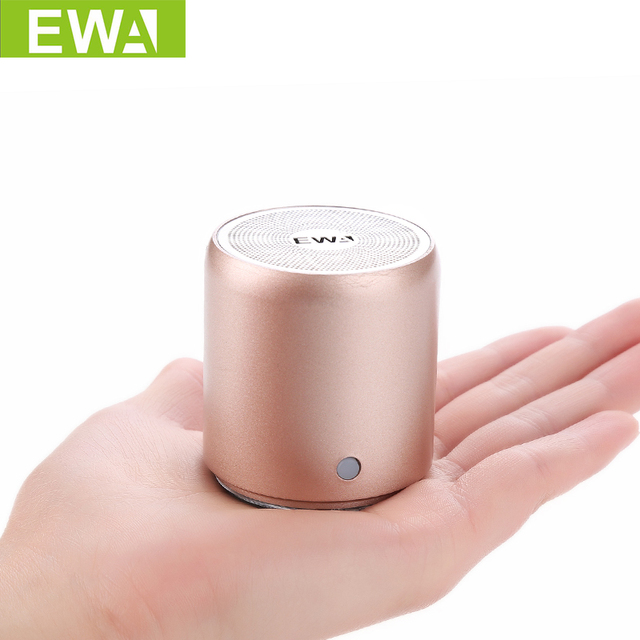 EWa A107 Speaker For Phone/Tablet/PC Mini  Wireless Bluetooth Speaker TWS Interconnect Technology Small Portable Speaker