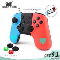 DATA FROG Game Controller For Nintendo Switch Controller Wireless Gamepad For PC Switch Controller Bluetooth Joystick