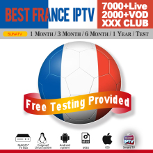 French IPTV subscription France arabic iptv abonnement 1 year 7000+ Europe Spain Portugal Belgium IPTV code M3U mag box Android недорого