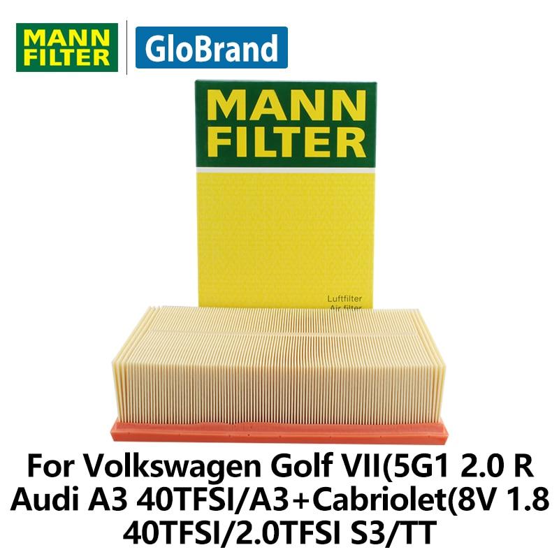 MANNFILTER Air Filter C30005 for Volkswagen Golf VII(5G1 2.0 R/Audi A3 40TFSI/A3+Cabriolet(8V 1.8 40TFSI/2.0TFSI S3/TT auto part