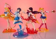 Sailor Moon Figure Figuarts Zero 180mm Sailor Mars Zero Mercury Venus PVC Sailor Moon Zero Action Figure Anime Sailor Moon Toys