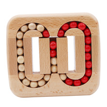1 Pc Magia Brinquedo Inteligência Luban Bloqueio Fechaduras Fechaduras de Old China Ancestral Tradicional De Madeira Cérebro Teaser de Puzzle Brinquedos Educativos