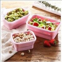 Microwave Lunchbox Leak Proof multiple colour Picnic Bento Lunch Box Portable Food Fruit Container 4pcs/set Kitchen supplies