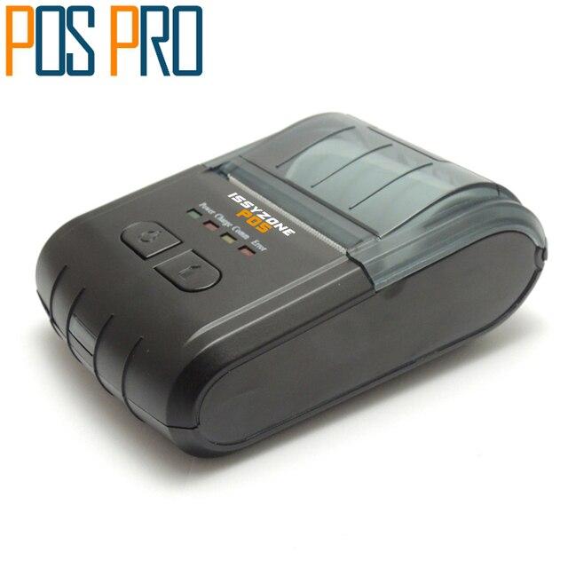 IMP014 Мини портативный термальный принтер с android Pos принтер, Универсальный принтер для билетов для ресторан, торговый рынок,
