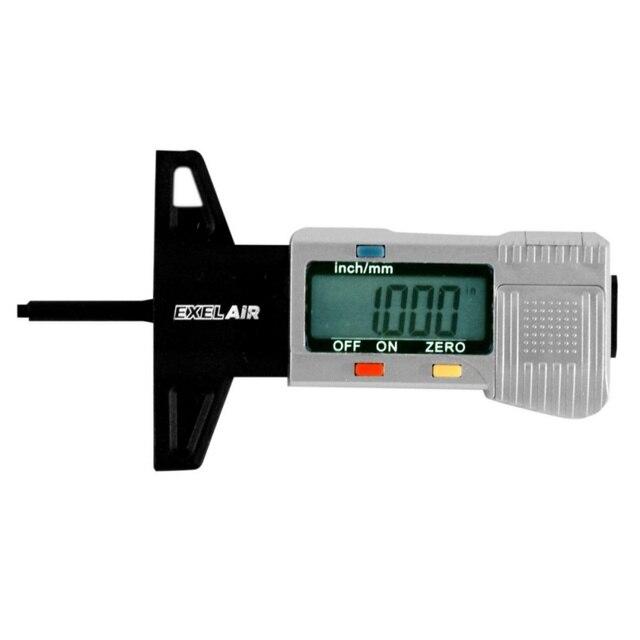 0-25.4mm Car Digital Tyre Tire Tread Depth Tester Gauge Meter Measurer Tool Caliper LCD Display tpms tire monitoring system