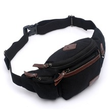 2016 Autumn new style leather Patchwork men's multifunction travel bags funny chest pack men waist pack women waist bag MB187