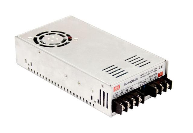 цена на [PowerNex] MEAN WELL original SD-500L-24 24v 21A meanwell SD-500 24V 504W Single Output DC-DC Converter