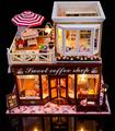 Handmade Doll House Furniture Miniatura Diy Doll Houses Miniature Dollhouse Wooden Toys For Children Grownups Birthday Gift