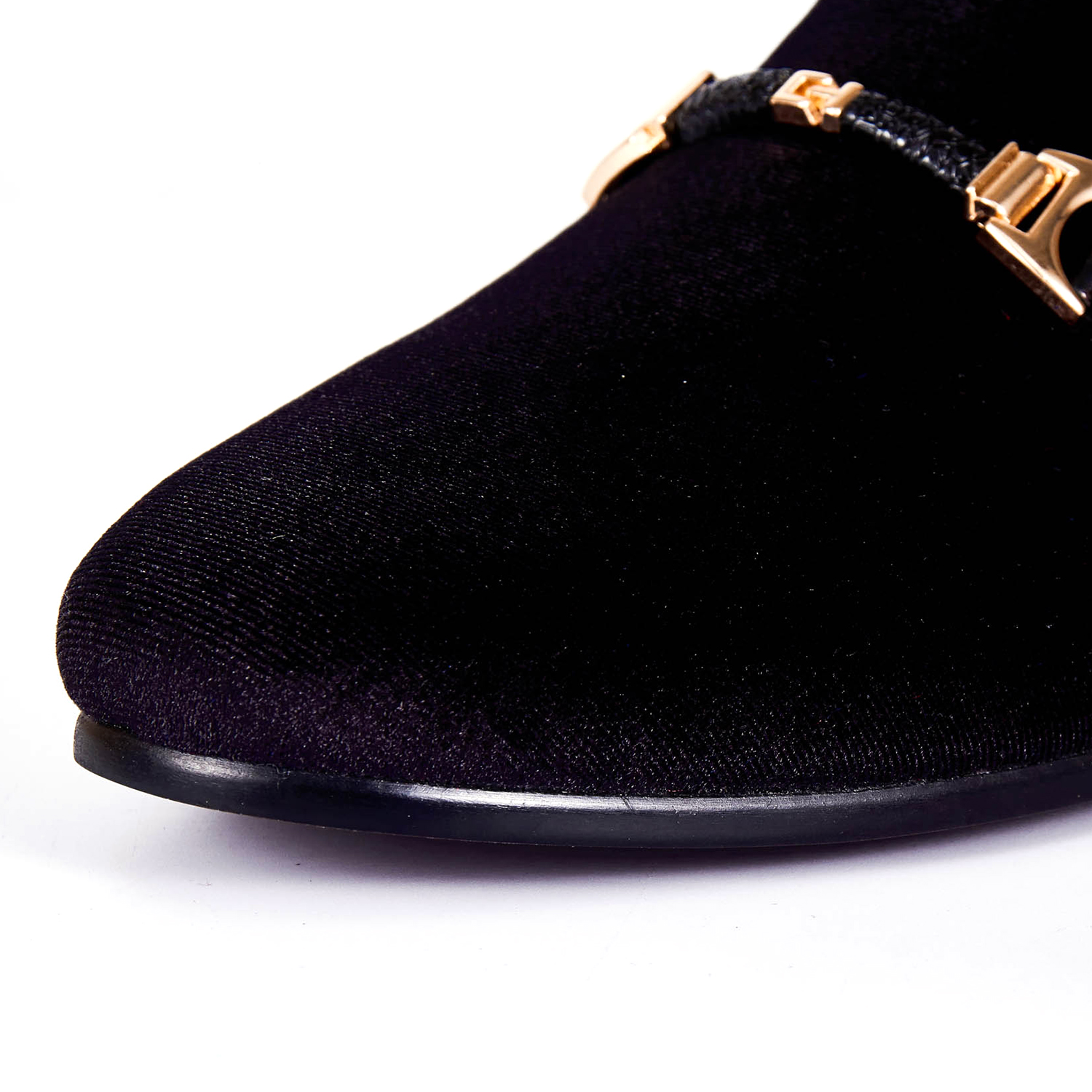 92dc320f02f202 Harpelunde Men Buckle Strap Classic Shoes Handmade Wedding Shoes Black  Velvet Loafers Size 6 14-in Formal Shoes from Shoes on Aliexpress.com