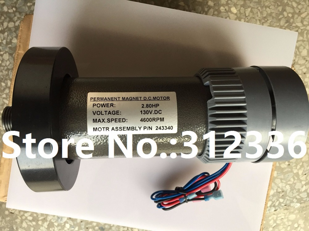 Fast Shipping DC motor for treadmill model: A17280M046  P/N  243340  PN F-215392 fast shipping jm01 018 dc motor for treadmill johnson model t5000
