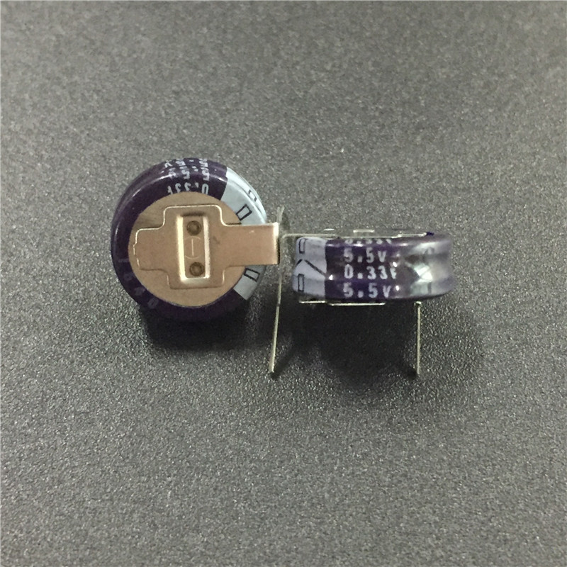 2Pcs/10Pcs/50Pcs 0.33F 5.5V ELNA DXN Series 11.5x5mm 5.5V0.33F H-Type Farad Super Capacitor