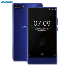 "DOOGEE MIX 6GB+64GB DTouch Fingerprint Dual Back Camera 5.5"" Super AMOLED Screen Android 7.0 Helio P25 Octa Core 4G"