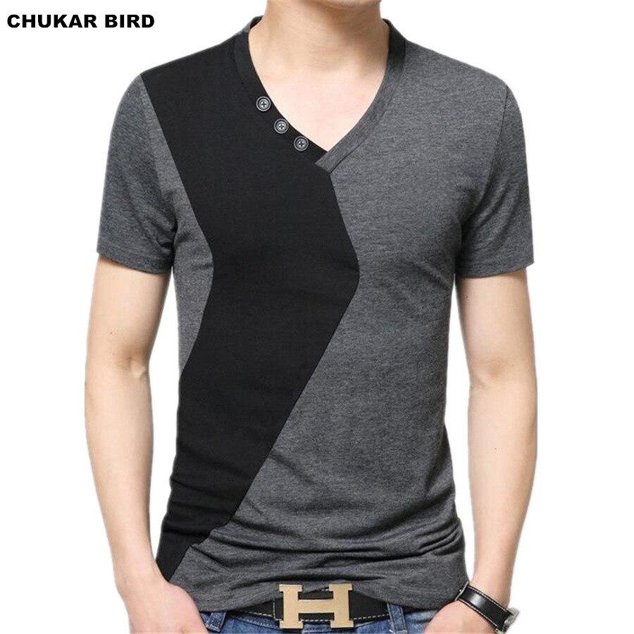 Black t shirt xl - Chukar Bird Mens V Neck T Shirts Luxury Casual Slim Fit Stylish Short Sleeve T Shirt Men T Shirt Men Tops M L Xl 2xl 3xl 5xl