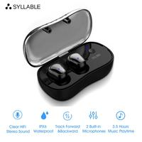SYLLABLE D900P TWS Bluetooth V5.0 Earphone for Phone HD Communication Portable True Wireless Stereo Earbud Waterproof Headset