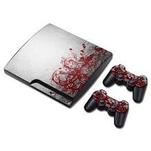Material de Pvc para PS3 slim Top venta pegatinas