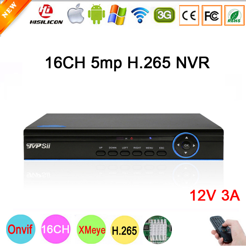5mp/4mp/3mp/2mp/1mp IP Camera Blue Panel Hi3536D XMeye 1CH RCA Audio output H.265 5mp 16CH 16 Channel Onvif IP NVR Free Shipping цены