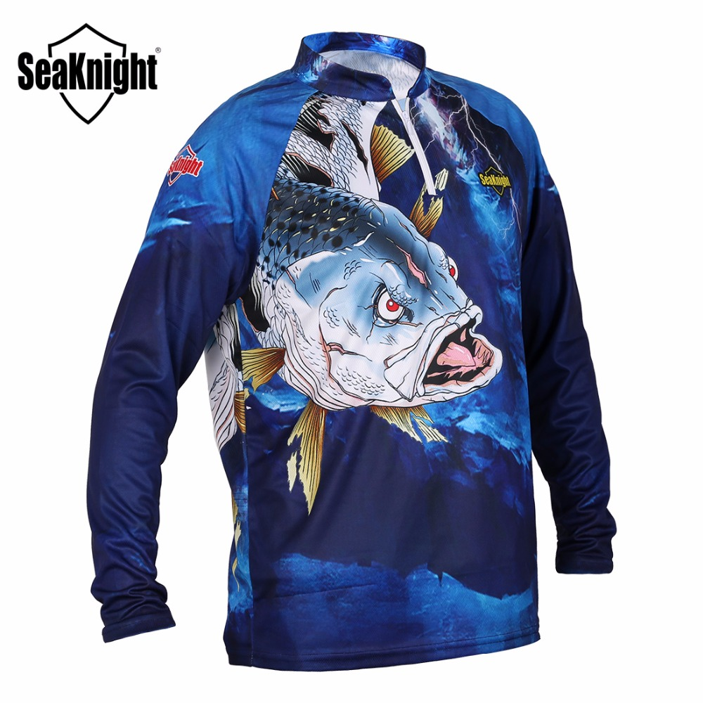 seaknight fishing clothing sk004 long sleeve l xl xxl xxxl xxxxl summer quick drying breathable. Black Bedroom Furniture Sets. Home Design Ideas