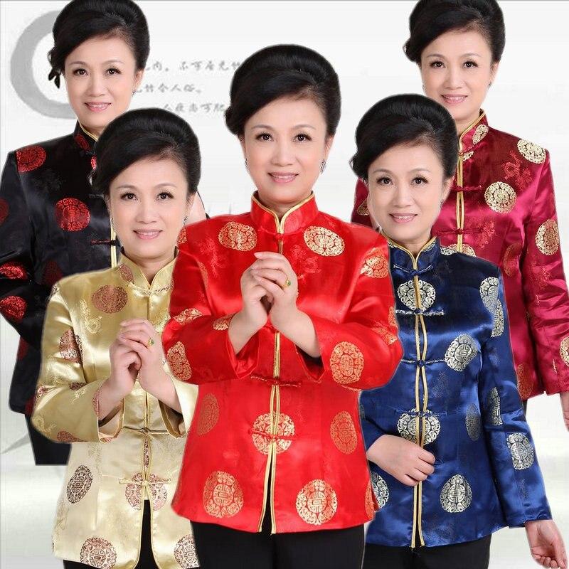 Vêtements chinois traditionnels Tang costume veste de mariage à manches longues veste tendance nationale ancienne Blouse Hanfu dames vêtements d'extérieur