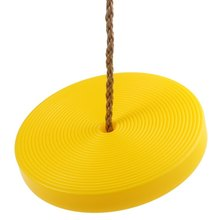 Popular Safe Indoor Outdoor Plastic Disc Monkey Kids Swing Seat Toy Hanging Playground Fitness Classic Game Christmas Gift