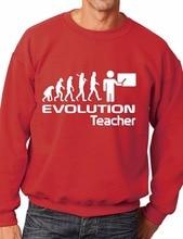 Evolution Of A Teacher Job Work Unisex Sweatshirt More Size and Color-E127