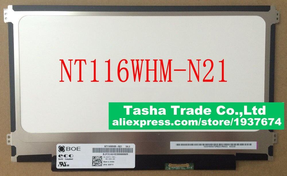 BOE NT116WHM-N21 NT116WHM N21 LED Screen LCD Laptop Screen eDP 30pin Original n116hse ea1 n116hse ea1 rev c1 laptop led lcd screen for asus ux21a zenbook ux21 11 6 edp 30pin original