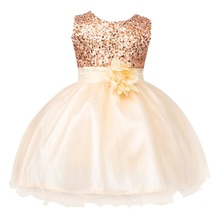 2019 Cute Baby Dress for Girls Party Birthday Outfit Sleeveless Ball Gown Sequin Dress Wedding Pageant Party Tutu Dress Girls jeremiah flowers girls dress white sleeveless bow cute girls dress party dress for kids girls tutu wedding dress for girls