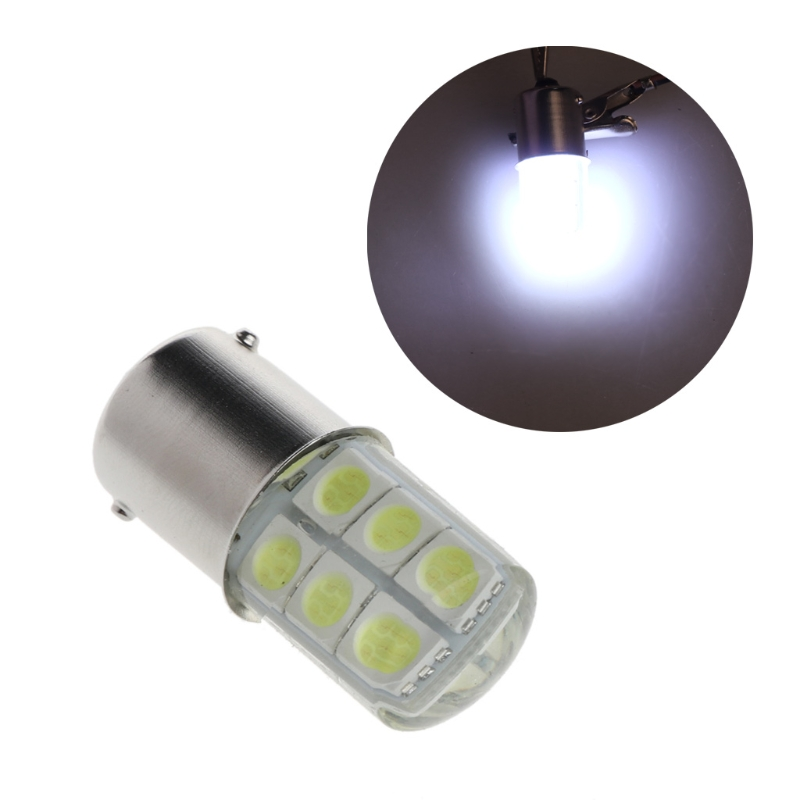 цена на 1PC DC 12V COB Car Light 1156 BA15S 5050 SMD 12 LED Brake Turn Signal Light Bulb