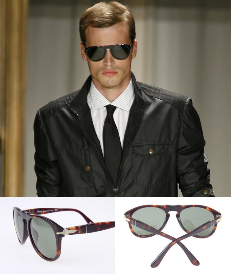 0e298fd410 Persol sunglasses 649 brand aviator sunglasses women and men designer steve  mcqueen special edition