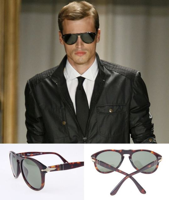 c75f67abb462 Persol sunglasses 649 brand aviator sunglasses women and men designer steve  mcqueen special edition