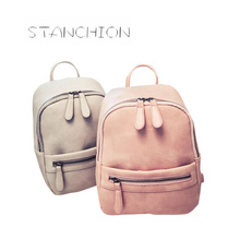 Women Backpack Fashion Color Candy Ladies New Fashion Casual PU Leather Mochila Feminina Ladies Shoulder Bag Rucksack