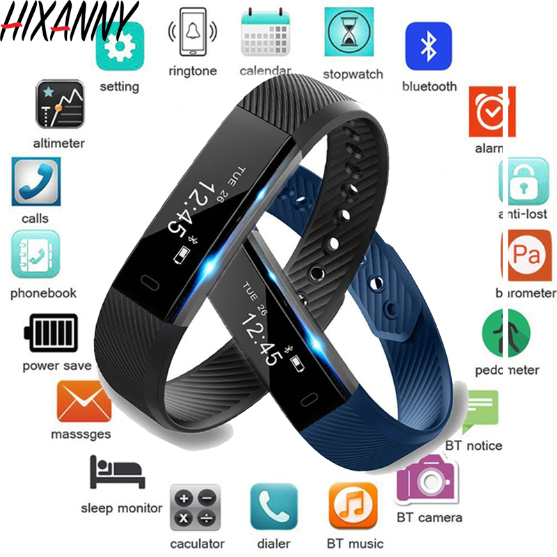 TK47 Smart Wristband Fitness Tracker Band Bluetooth Sleep Monitor Watch Sport Bracelet for ios Android Phone pk Fit Bit Mi 2-in Smart Wristbands from Consumer Electronics