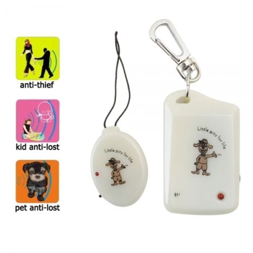 Anti Lost Theft Alarm Safety Set A Transmitter and a Receiver(Children Pets Bags) a bit lost