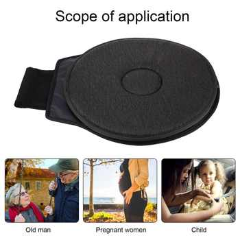 Accessories360 Degree Rotation Cushion Car Mats Chair Cushion for Elderly Pregnant Woman Foaming Auxiliary As The Picture Show