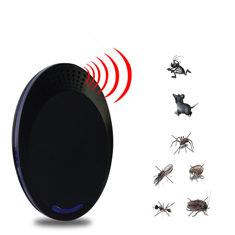 Reject-Repellent Cockroach Mouse Insect-Killer Cat Ultrasonic Pest Rat Enhanced-Version