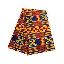 Африканский воск восковая печать на ткани хлопок последний дизайн