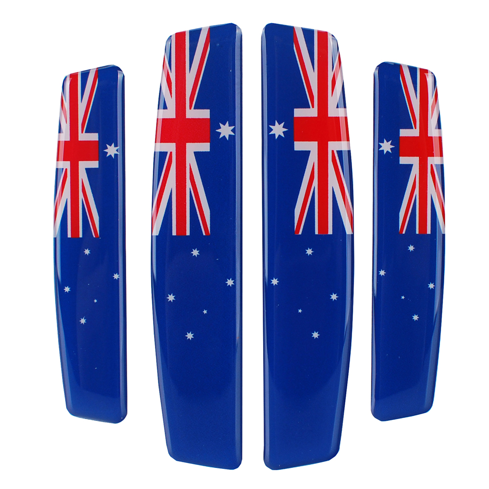 Автомобиль Стикеры внешние аксессуары двери автомобиля наклейки Австралия Флаг для Holden Commodore Vauxhall Insignia сиденье Honda Toyota Mazda 3