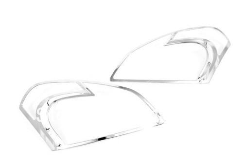 Chrome Head Light Cover For Nissan Qashqai Dualis 2007