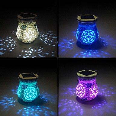 Chinois de Style En Céramique LED Lampe Solaire Jardin Lumière ...