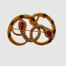 Amorita boutique de moda serpiente Broches para las mujeres