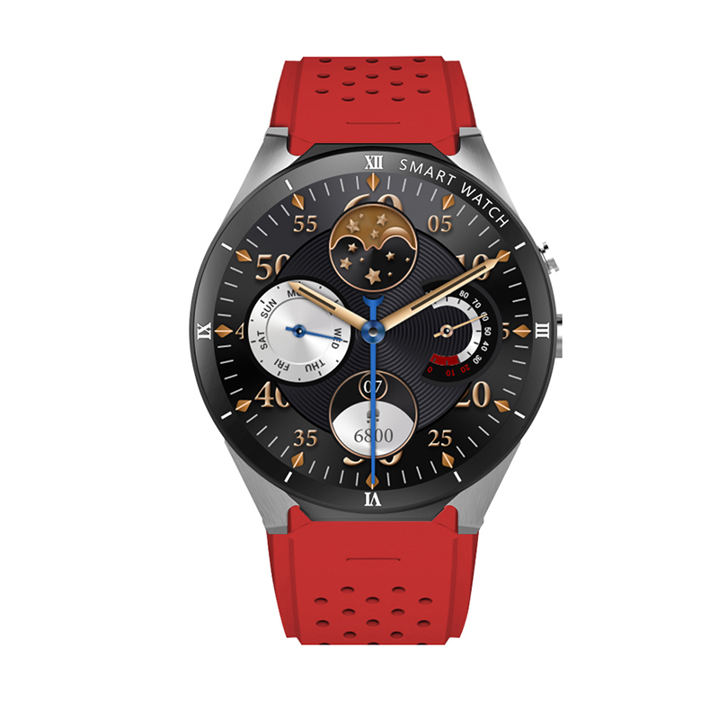 Goldenspike kw88 pro reloj inteligente hombre iwo 12 relógio inteligente para huawei relógio 2 samsung s4 relógio inteligente para ios relógio inteligente - 2